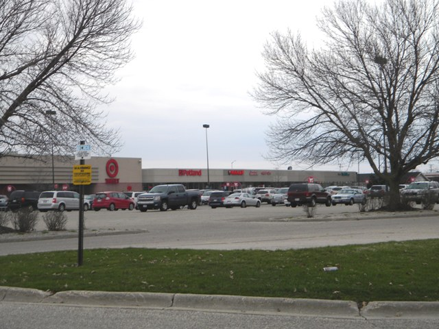 Target Strip Center Space